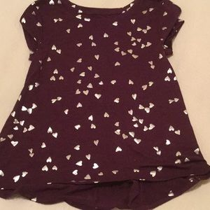Other - Purple with metallic silver stars tunic,never worn